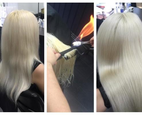 Fire Hair Cut Treatment